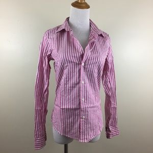 NWOT Frank & Eileen Striped BARRY Button Shirt